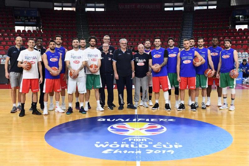 FIBA Basketball World Cup Qualifiers 2019: è iniziato il countdown per il match di Varese di venerdì 22 dell'Italbasket vs l'Ungheria secondo #MatchBall per la Cina