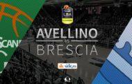 Lega A PosteMobile 4^di ritorno 2018-19: #LunchMatch domenicale al PalaDelMauro tra Avellino e Brescia parlano Vucinic e Diana