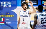 FIBA Basketball World Cup Qualifiers 2019: l'Italbasket venerdì 22 a Varese ha il 2° #MatchBall per i Mondiali cinesi si deve battere l'Ungheria