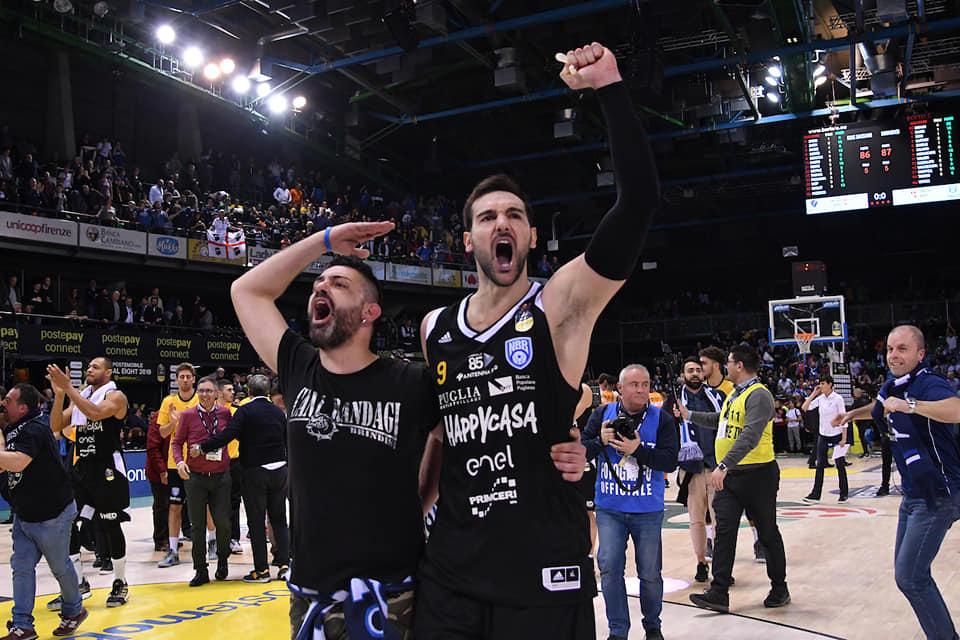PosteMobile Final Eight 2019: dopo la sorpresa Vanoli ecco Brindisi per la sua prima Finale di Coppa Italia battuta Sassari 86-87