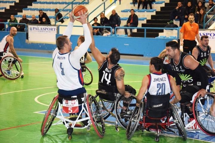 Basket in carrozzina #SerieAFipic 3^di ritorno 2018-19: riparte il campionato, Porto Torres cerca il riscatto vs Giulianova e Briantea84 attende Sassari