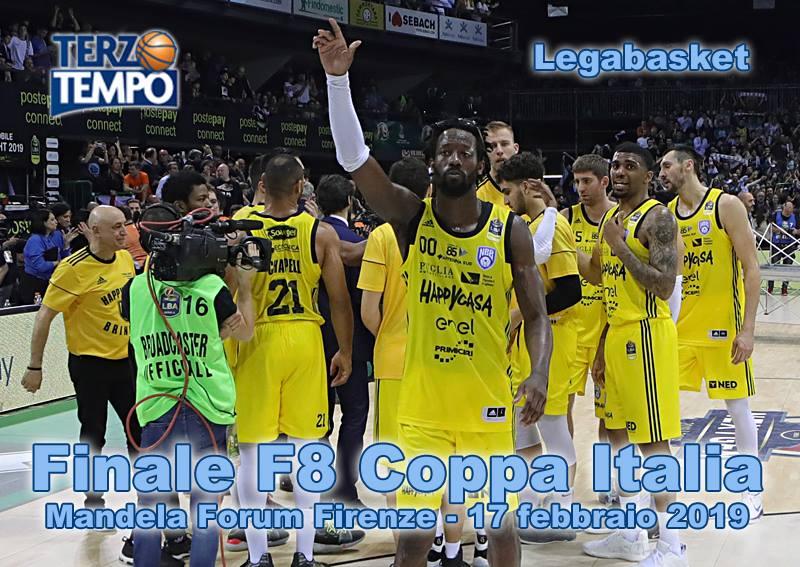 PosteMobile Final Eight 2019: è stata la prima Finale di Coppa Italia nella storia di Brindisi riviviamola in Terzo Tempo