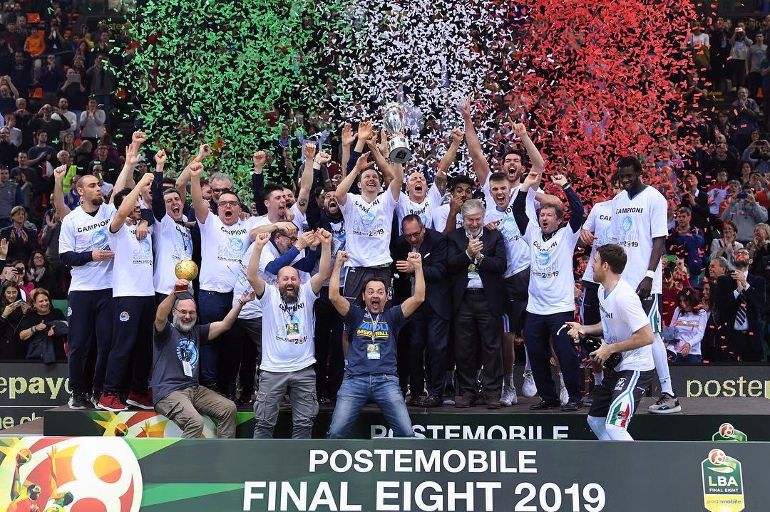 PosteMobile Final Eight 2019: la Vanoli Cremona è nella storia battuta in Finale l'Happy Casa Brindisi per 83-74