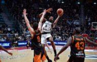 FIBA Basketball Champions League #Round13 2018-19: arrivo in volata ed all'OT per la Virtus Bologna che batte Patrasso e vince il girone