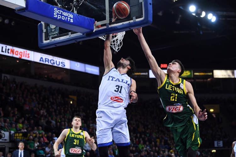 FIBA Basketball World Cup Qualifiers 2019: sconfitta indolore per l'Italbasket in Lituania ora si pensa al Mondiale