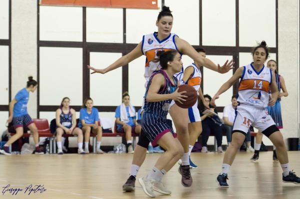 A2 Femminile girone Sud 8^ di ritorno 2018-19: l'Andros Basket interrompe la corsa di Umbertide, La Spezia regola S.Salvatore Selargius