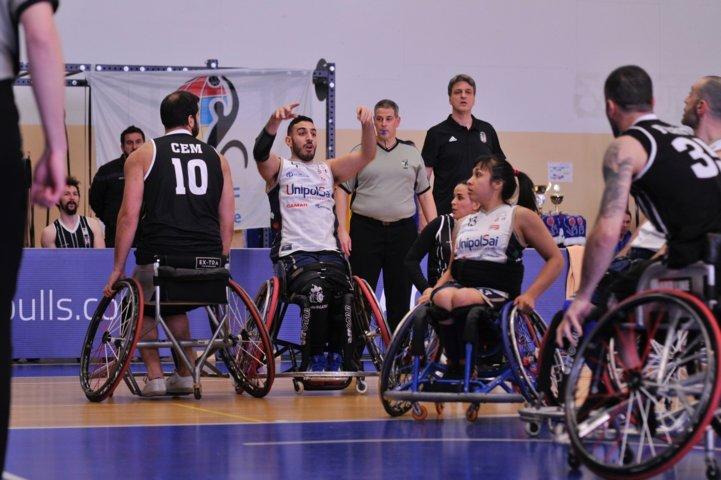 Basket in carrozzina #Game1 1/4 IWBF Champions League 2019: riscatto UnipolSai Briantea84 che batte il Besiktas e si rilancia per le F4
