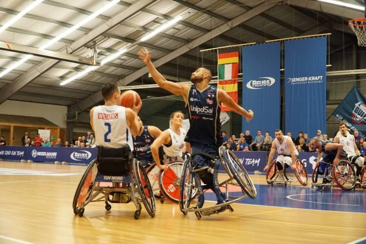 Basket in carrozzina #Game1 1/4 IWBF Champions League 2019: l'esordio dell'UnipolSai Briantea84 vs i Thuringia Bulls è da dimenticare KO 91-63