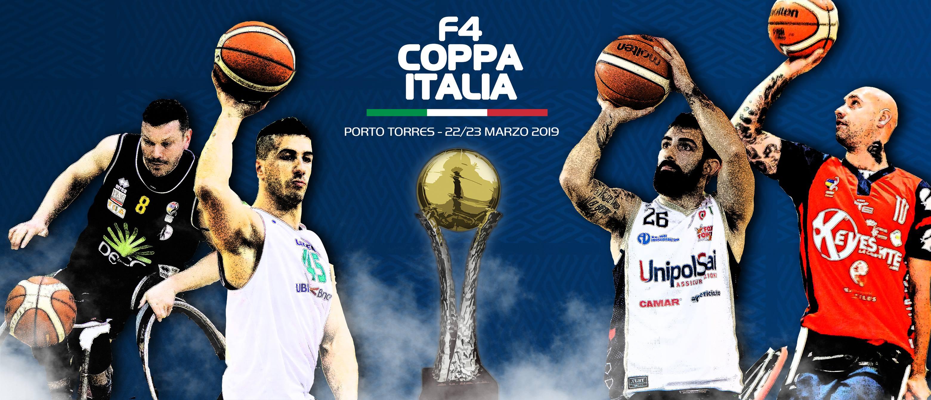 Basket in carrozzina Coppa Italia Fipic 2018-19: la Briantea84 all'assalto del Torneo in Sardegna vs le altre migliori del campionato