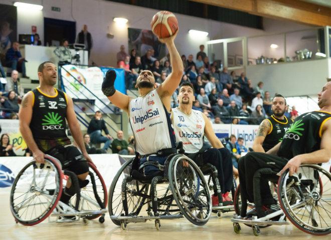 Basket in carrozzina #SerieAFipic 6^ di ritorno 2018-19: sempre implacabile UnipolSai Briantea84 che batte, e sono 13 di fila, anche DECO Group Amicacci
