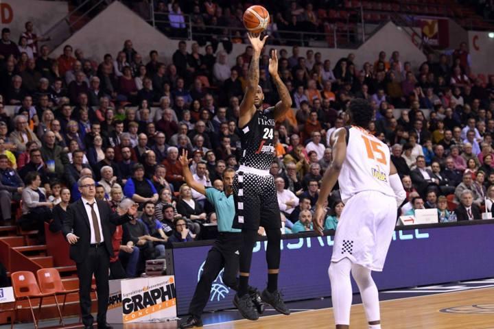 FIBA Basketball Champions League #Game1 ottavi 2018-19: Le V Nere bolognesi pareggiano a Le Mans per 74-74 ora tra sette giorni #Game2 al PalaDozza