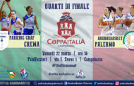 A2 Femminile F8 Coppa Italia 2018-19: la preview di Crema-Palermo e Campobasso-Moncalieri