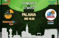 Serie B girone D 9^di ritorno 2018-19: Palestrina riparte in casa vs Catania è la prima delle #7finali conclusive