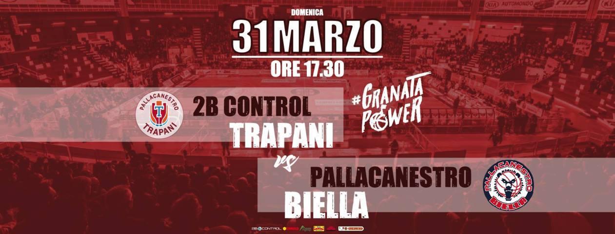 A2 Ovest Old Wild West 12^di ritorno 2018-19: insidiosissima e delicata trasferta a Trapani per l'Edilnol Biella