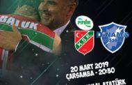 FIBA Europe Cup #Game1 Quarter-Final 2018-19: sull'ostico terreno del Pinar Karsiyaka la Dinamo Sassari per vincere il match