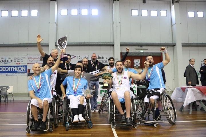 Basket in carrozzina #SerieAFipic 7^di ritorno 2018-19: chiusa la stagione regolare senza sorprese, in A sale Padova