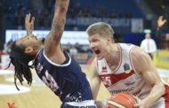Lega A PosteMobile 5^di ritorno 2018-19: la Germani Basket Brescia vede il baratro poi reagisce e passa a Pesaro 86-92