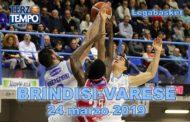Lega A PosteMobile 8^di ritorno 2018-19: è sempre spettacolo a Brindisi riviviamo le emozioni del match tra Happy Casa e Varese in Terzo Tempo