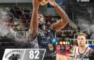 Lega A PosteMobile 7^di ritorno 2018-19: ancora vincente la Dolomiti Energia Trentino che supera anche l'Alma Trieste per 82-75 e sono 100 W in Legabasket