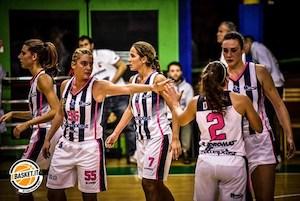 A2 Femminile Finale Playoff Sud 2018-19: Progresso Matteiplast Bologna-AndrosBasket Palermo le belle in finale