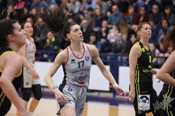 Lega A2 Femminile girone Sud 12^ di ritorno 2018-19: vincono Magnolia Campobasso, AndrosBasket Palermo e Basket Project Faenza