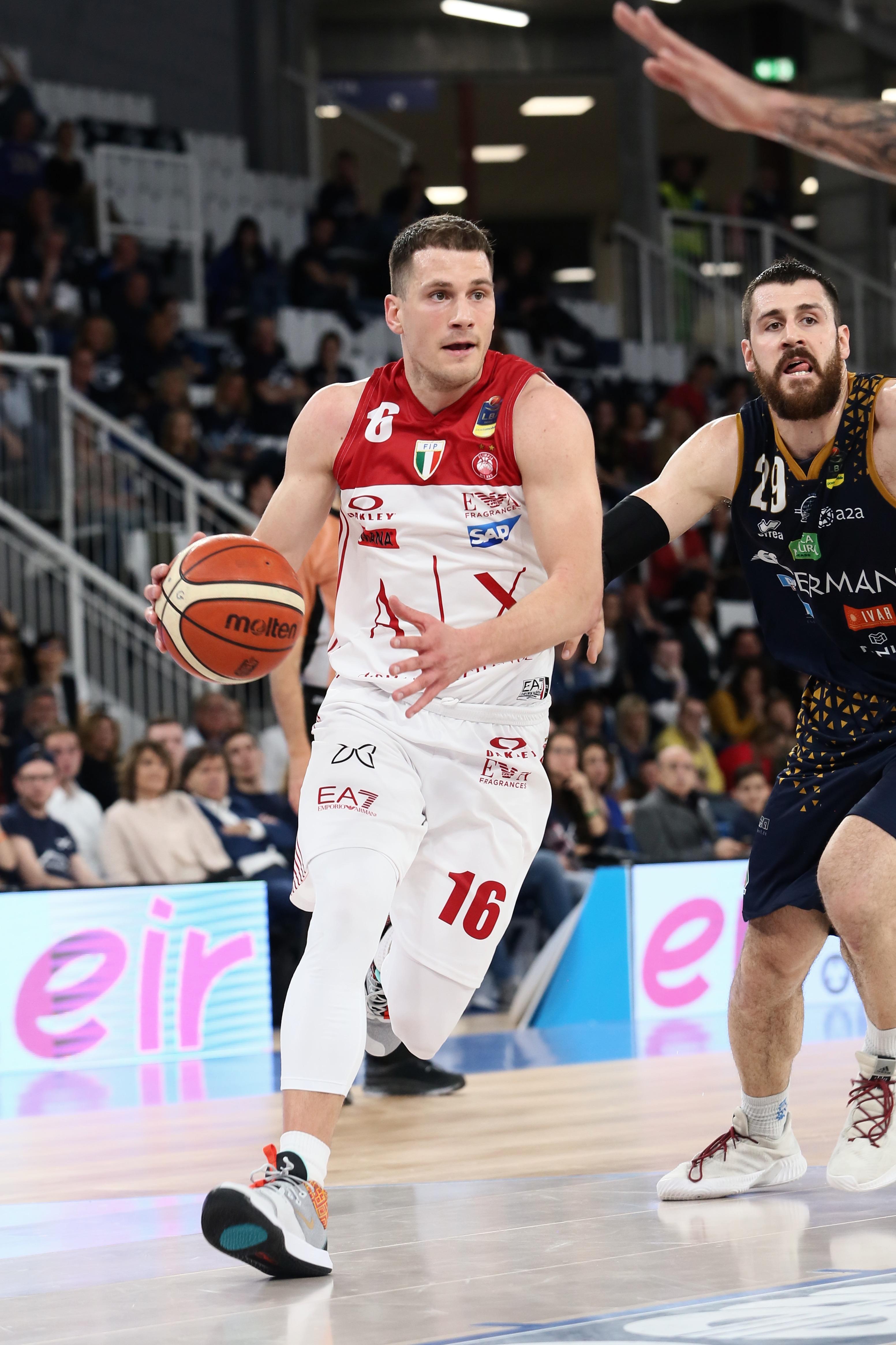 Lega A PosteMobile 12^di ritorno 2018-19: Brescia è più affamata e trascinata dagli ex Moss ed Abass sconfigge una Olimpia che ora preoccupa