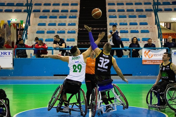 Basket in carrozzina #serieA Fipic gara2 semifinali play e playout 2018-19: UnipolSai, S.Stefano, Santa Lucia e HS Varese potrebbero chiudere il discorso