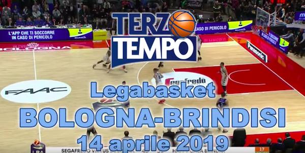Lega A PosteMobile 11^di ritorno 2018-19: la puntata di Terzo Tempo dedicata a Virtus Bologna-Happy Casa Brindisi