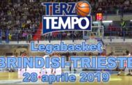 Lega A PosteMobile 13^di ritorno 2018-19: la puntata di Terzo Tempo dedicata ad Happy Casa Brindisi-Alma Trieste