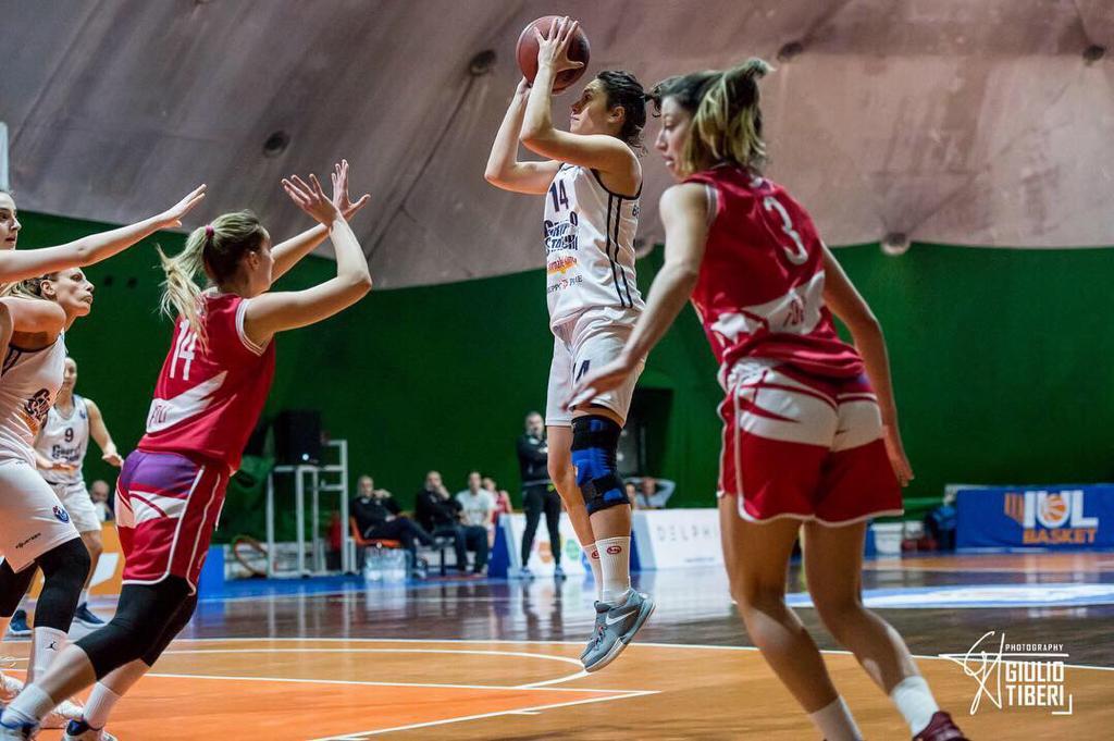 A2 Femminile Playout 2 #gara1 II°turno 2018-19: l'ultimo treno per Gruppo Stanchi Athena e Cestistica Savonese