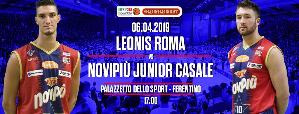 A2 Ovest Old Wild West 13^di ritorno 2018-19: la Leonis Roma riceve una lanciata Novipiù Casale Monferrato