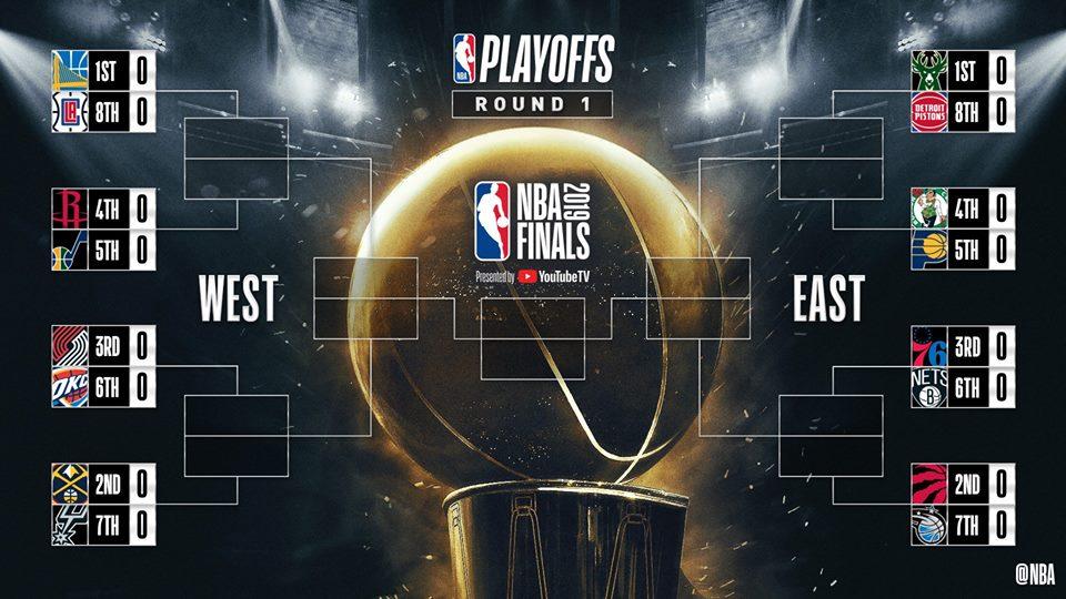NBA Playoff 2019: al via il primo turno tra poco più di 24 ore ne parliamo con Davide Pessina di Sky Sport NBA
