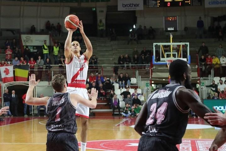 FIBA Europe Cup 1/2 andata 2018-19: Varese non entra in campo ed il s.Oliver Wurzburg la punisce con un -23 pesantissimo