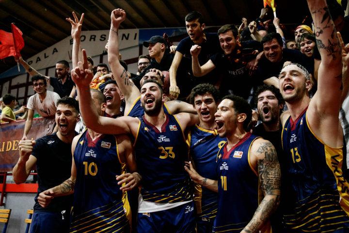 A2 Ovest Old Wild West ultima di RS 2018-19: la Virtus Roma espugna Legnano e torna in serie A (con highlights)