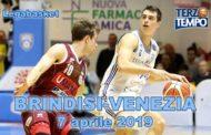 Lega A PosteMobile 10^di ritorno 2018-19: la puntata di Terzo Tempo dedicata ad Happy Casa Brindisi-Umana Venezia