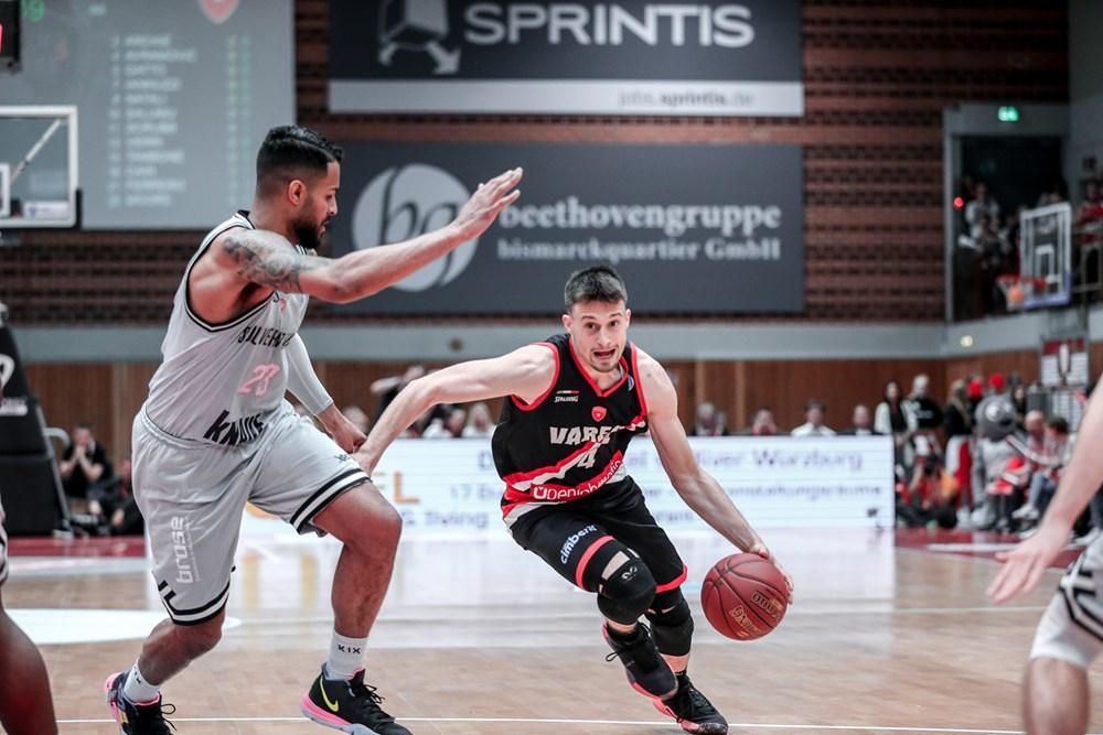 FIBA Europe Cup semifinale di ritorno 2018-19: Varese saluta l'Europa perdendo anche #Gara2 vs s.Oliver Würzburg per 86-83
