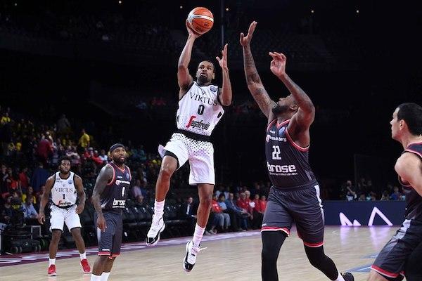 Fiba Basketball Champions League semifinali 2018-19: fantastica Virtus Segafredo Bologna!La difesa schiaccia il Brose e le V nere sono in Finale (con highlights)