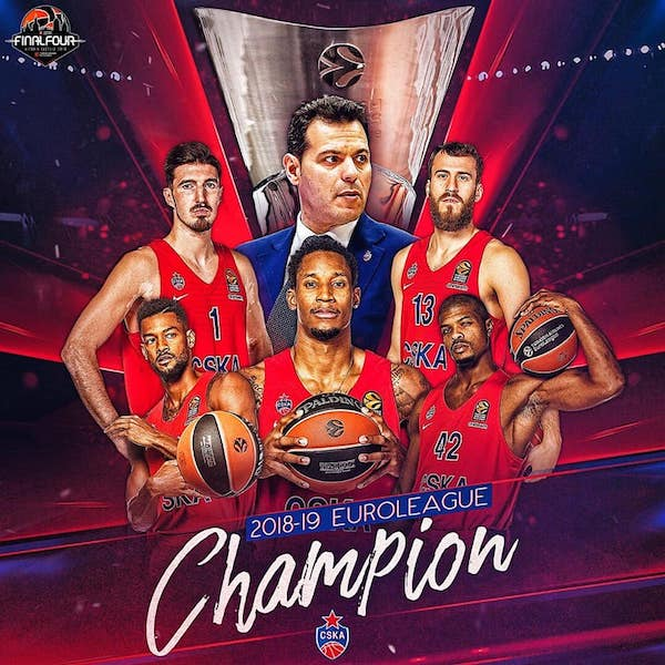 Turkish Airlines Euroleague Finale 2018-19: il CSKA Mosca Campione d'Europa per l'ottava volta