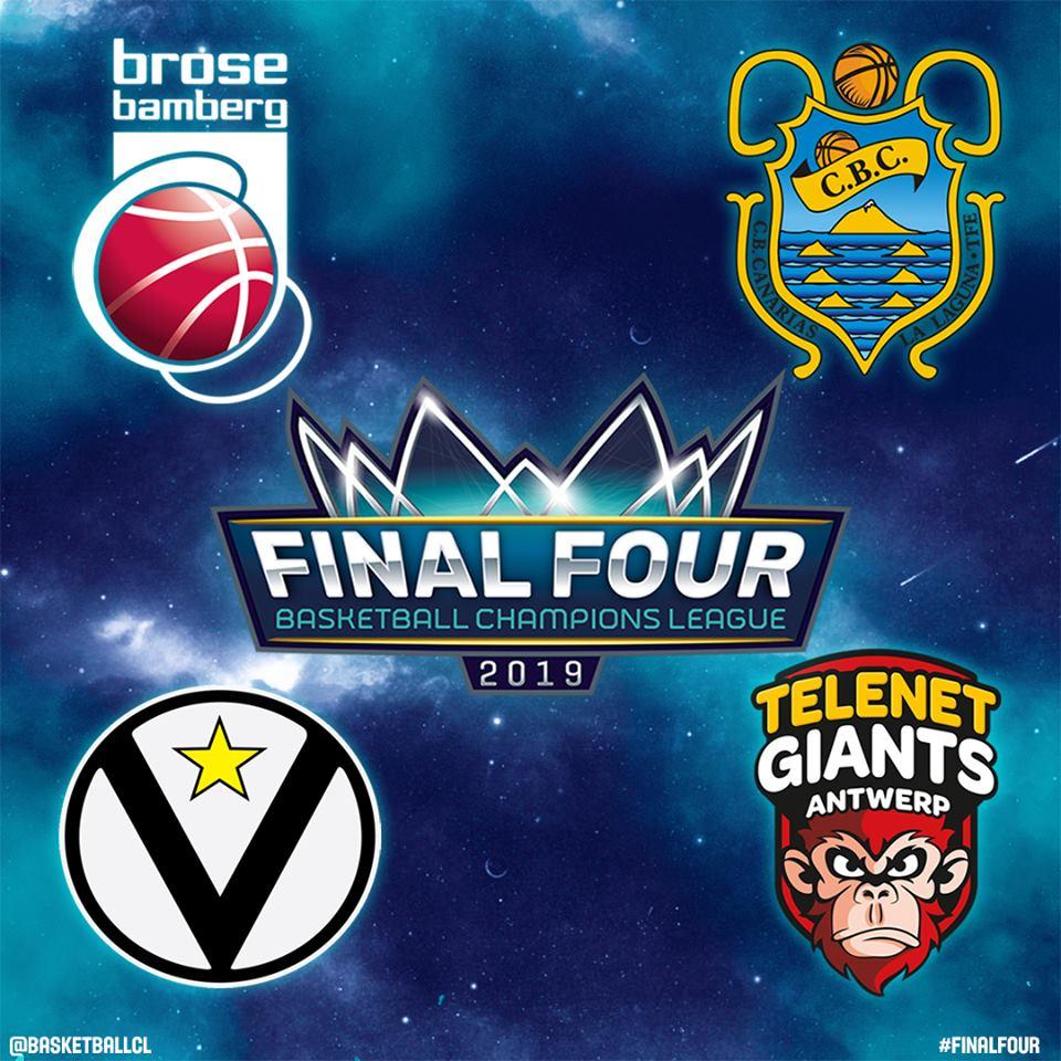 FIBA Basketball Champions League Final Four 2019: la Virtus Bologna ci prova primo passo vs il Brose Bamberg