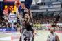 Lega A PosteMobile Gara1 quarti di finale Playoff 2019: l'Umana Reyer Venezia rischia soffrendo moltissimo, solo a fine partita risolve con la Dolomiti Energia Trentino