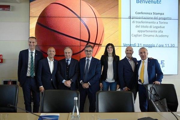 A2 2019-2020: la Dinamo Cagliari Academy diventa Reale Mutua Torino, la presentazione ufficiale del progetto