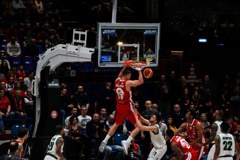 Lega A PosteMobile Gara2 quarti di finale Playoff 2019: l'Olimpia Milano pareggia la serie ma dubbi e perplessità restano in vista della fondamentale gara 3