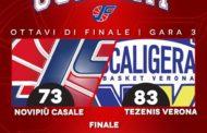 A2 Old Wild West Playoff Gara3 2018-19: la Tezenis Verona sorprende la Novipiù Casale in casa serie sul 2-1 per i veneti