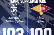A2 Old Wild West Finale LNP Gara2 2019: il titolo di Campione d'Italia Dilettanti FIP è della Fortitudo Bologna che batte la Virtus Roma 103-100 al supplementare