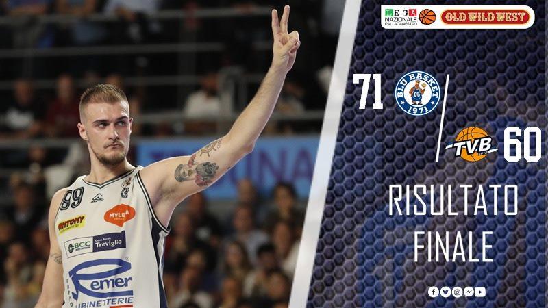 A2 Old Wild West Gara3 Semifinali 2018-19: la Remer Treviglio non s'arrende e batte Treviso 71-60 Serie sul 2-1 per i veneti