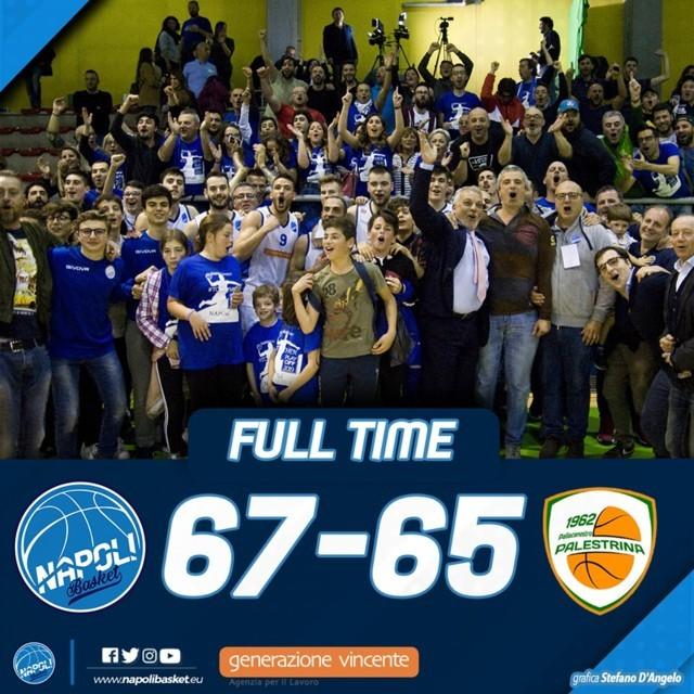Serie B Old Wild West Gara3 Tabellone C Semifinale Playoff 2019: il Napoli Basket vince il match della verità ora Palestrina è spalle a muro