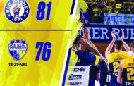 A2 Old Wild West Gara5 quarti di finale Playoff 2019: Lorenzo Caroti con due triple all'overtime regala la semifinale a Treviglio che batte Verona 81-76