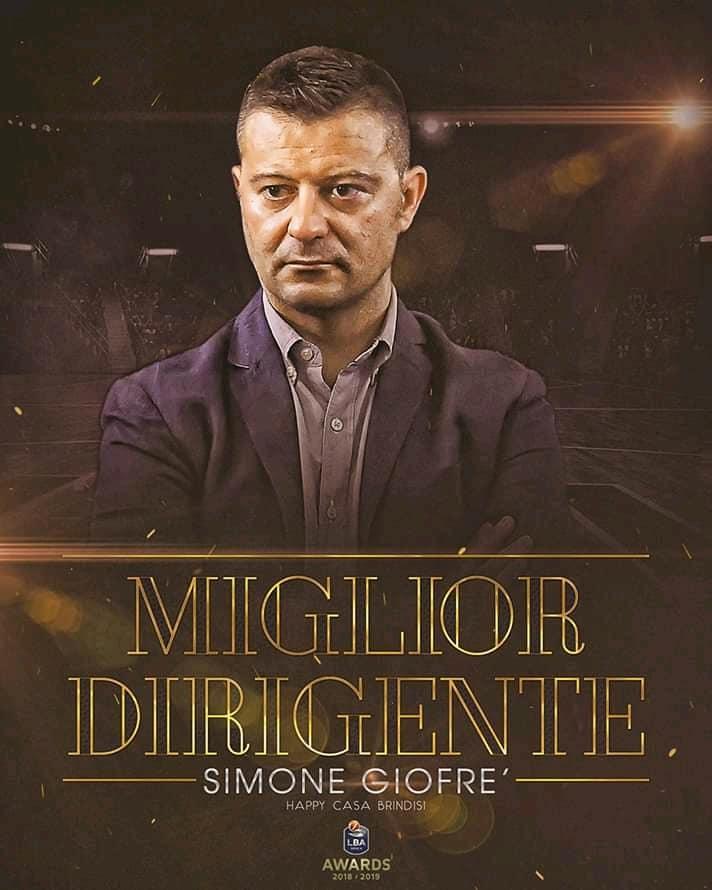 Lega A PosteMobile Playoff 2019: il segreto dell'Happy Casa Brindisi è Simone Giofrè, miglior DS in LBA? Ce lo racconta lui intervistato da Fabrizio Noto