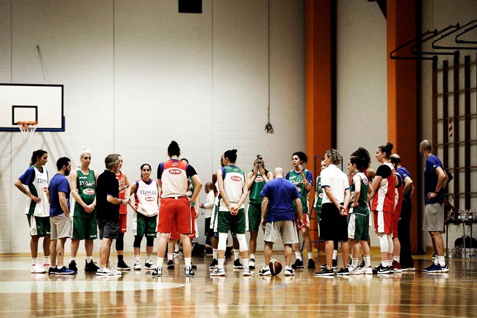 Italbasket 2019: iniziano le gare amichevoli per l'Italbasket Rosa in ottica EuroBasket 2019