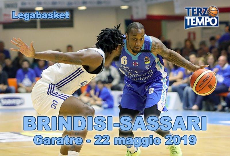 Lega A PosteMobile #Gara3 quarti di finale Playoff 2019: si chiude un anno speciale per Brindisi nel match vs Sassari riviviamo tutto in Terzo Tempo